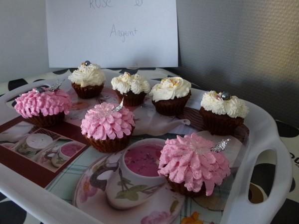 cupcake argent