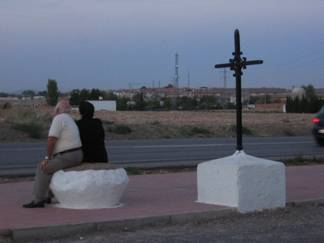 la cruz de los pajes