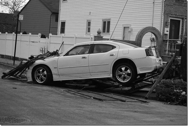 2012 charger on pole