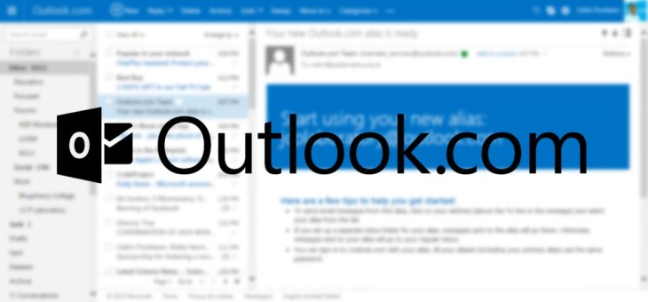 How to Use Aliases in Microsoft Outlook.com