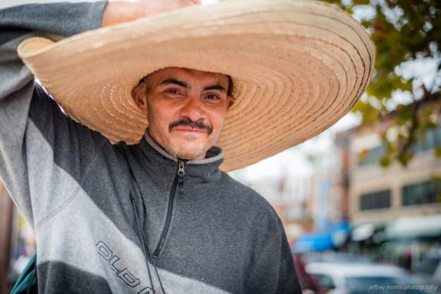 Under a Woven Sombrero