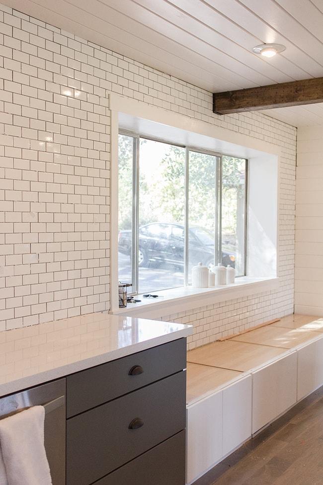 subway tiles in kitchen cabinet on wheels chronicles a diy tile backsplash part 1 jenna sue design blog