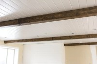Master Makeover: DIY Wood Beams | Jenna Sue Design Blog
