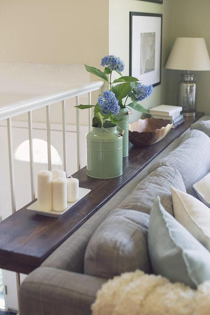 Sofa Table Featuring Jenna Sue Design  Ana White