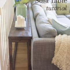 How To Make A Sofa Table Top Versace Design 30 Diy Console Tutorial Jenna Sue Blog Your Own Custom For
