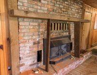 Mortar Wash Brick Fireplace Tutorial & Cottage Flip Update ...