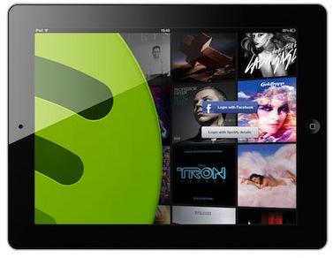 Spotify pour ipad la solution musique de v tre salon for Application miroir pour ipad