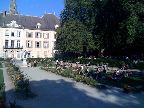 Jardin Centre Ville Grenoble