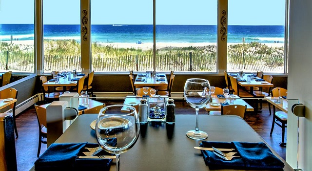 jersey shore oceanfront dining