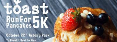 Asbury Park's Toast Pancake Run: 5K: Running for Pancakes and a Cause