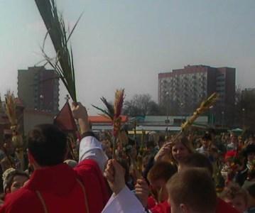 Niedziela Palmowa, czyli Męki Pańskiej