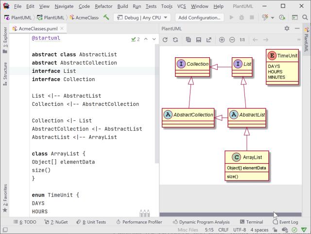 Create UML Diagrams using PlantUML  The .NET Tools Blog