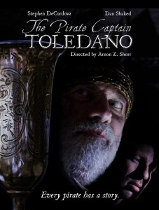 The Pirate Captain Toledano is the world's first cinematic depiction of Inquisition-era Jewish pirates in the Caribbean