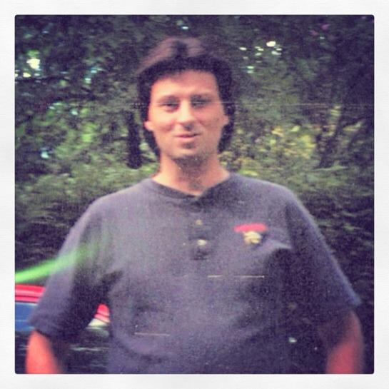 Me, 2007. Argus C-3.