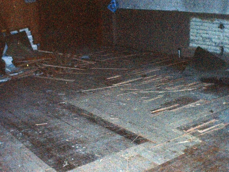 Demolition of Moench Hall