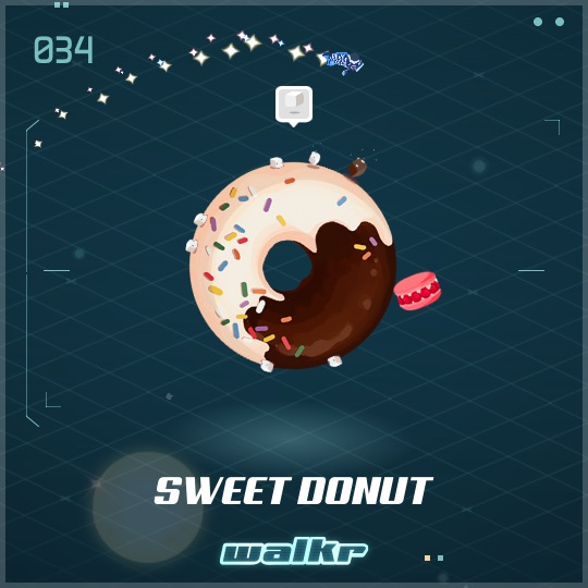 No.034 Sweet Donut