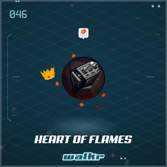 No.046 Heart of Flames