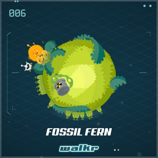 No.006 Fossil Fern