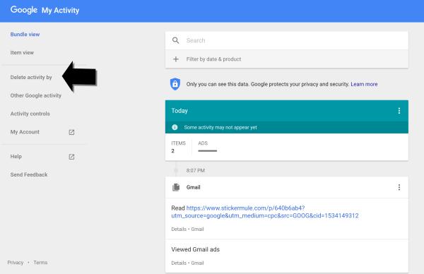 Archive Delete Google Data Jim Stroud