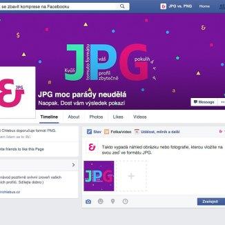 Firemní profil s JPG fotografiemi