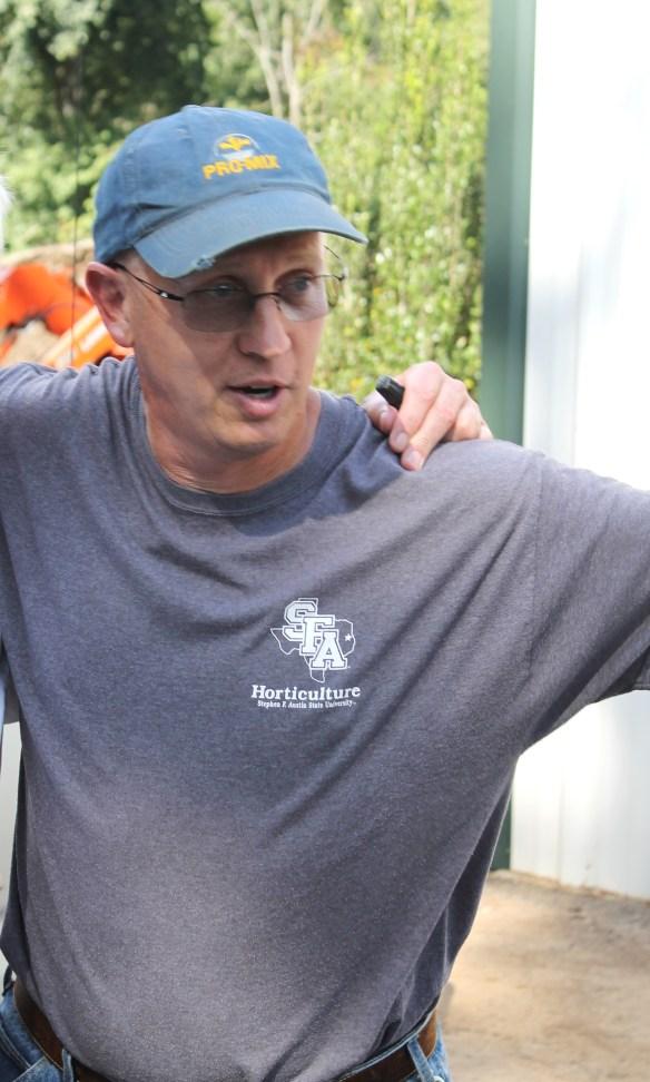 Greg Grant at SFASU