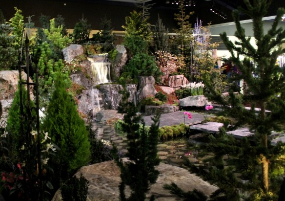Water garden at NWFGS