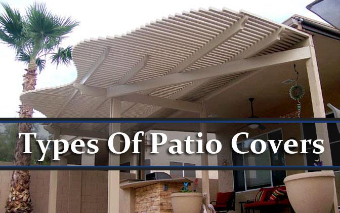 types of patio covers jlc enterprises