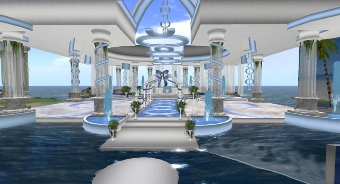 La Fountain Blu Wedding Venue Front