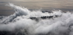 Clouds Rising into Big Bear