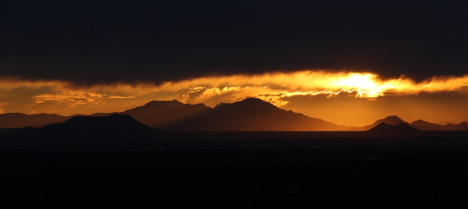 Sunset View of West Tucson, Arizona