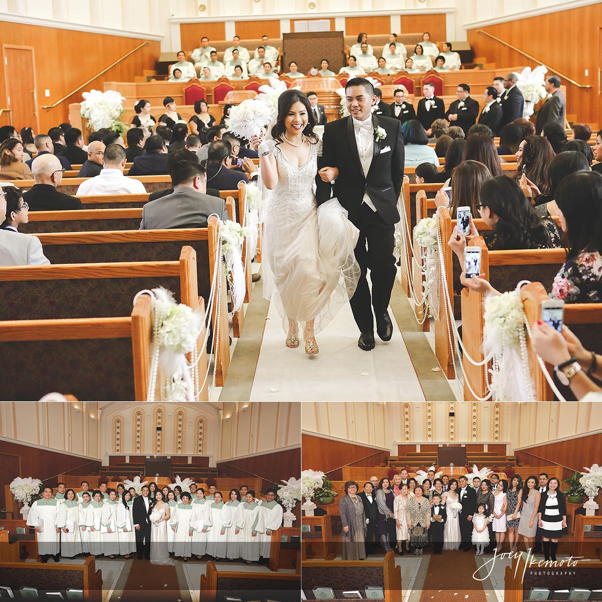 Church of Christ Los Angeles and Vertigo Event Center Glendale Wedding Nory and Michele