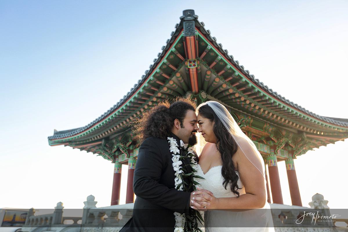 Korean Friendship Bell and Ports O Call Wedding Carlos and Tianna