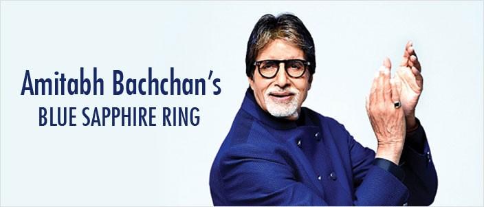 Superstitious Superstar Amitabh Bachchans Blue Sapphire