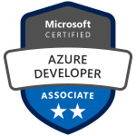 Azure Developer Associate Badge