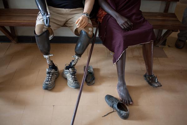 kilimanjaro charity challenge with ray edwards quad amputee
