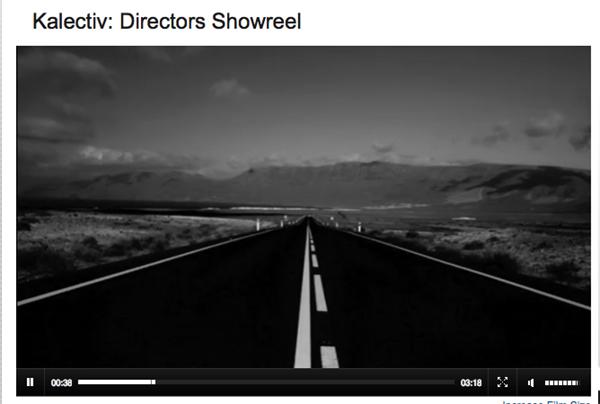 Kalectiv John Hicks Directors ShowReel