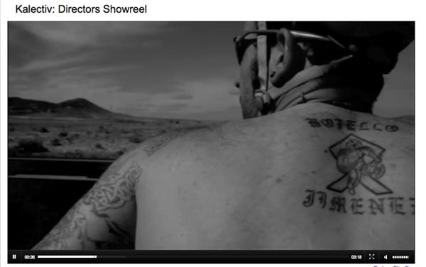 Kalectiv John Hicks Directors ShowReels