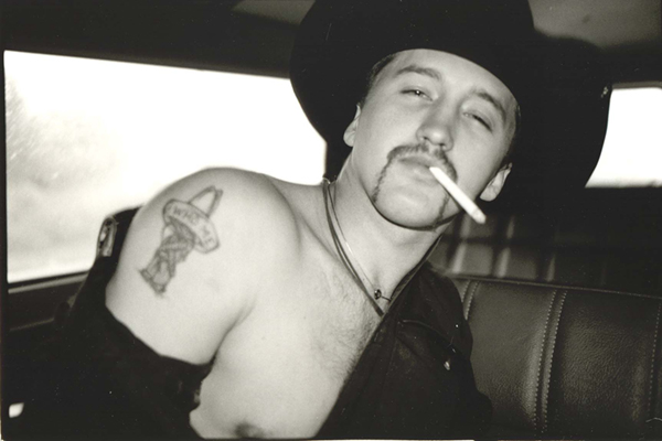 rodeo rider tattoo by John Hicks