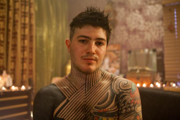 Chris Tattoo portrait by John Hicks