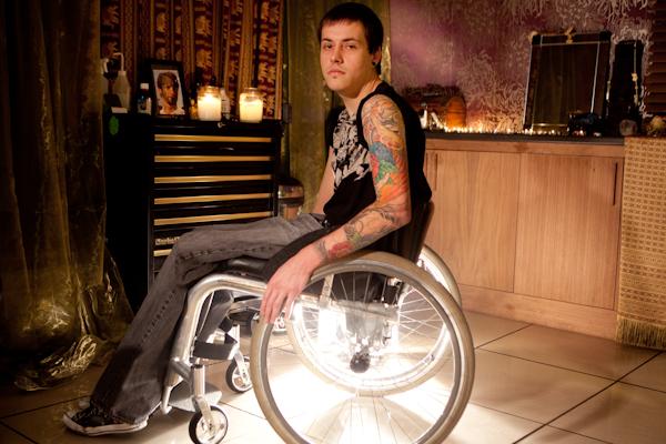 Justin Tattoo by John Hicks