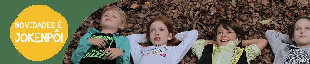 Venha conferir as novidades em moda infantil no site da Jokenpô!