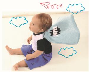 Body Bebê Super Herói