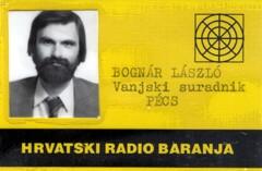 Bognár László, Pécs
