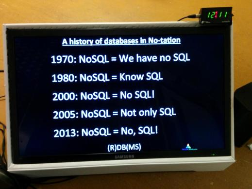History of NoSQL by Mark Madsen. Picture by Ed Dumbill