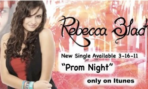 "Rebecca Black's New Song ""Prom Night"": Watch Out for the Impostors."