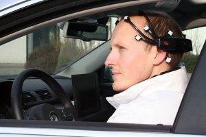 Thinking Your Way Through Traffic in a Brain-Control Car