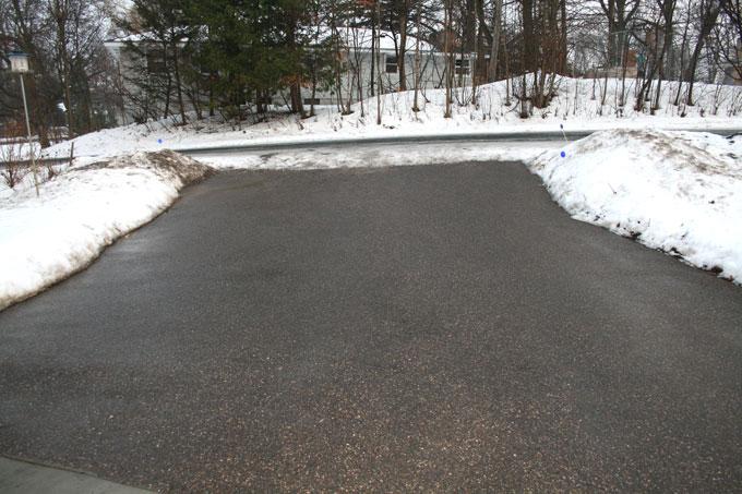 My Driveway, February 9th, 2009