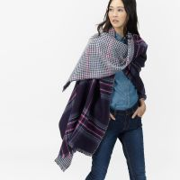 6 Ways to Wear an Oversized Scarf | Joules