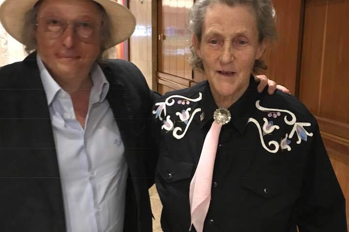 Dra. Temple Grandin está no Brasil!