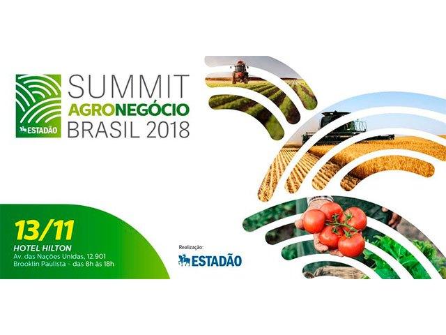 Summit Agronegócio Estadão dia 13/nov – Eu recomendo!